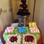 fontana di cioccolatoaroma